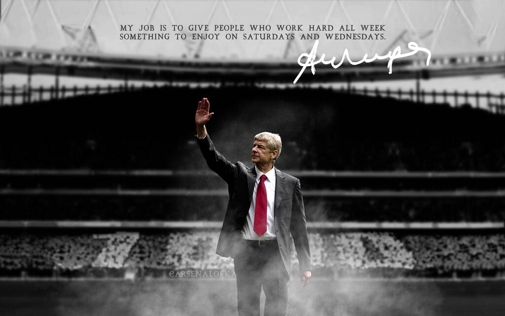 Only Wenger plays the piper and dictates the Arsenal tune.