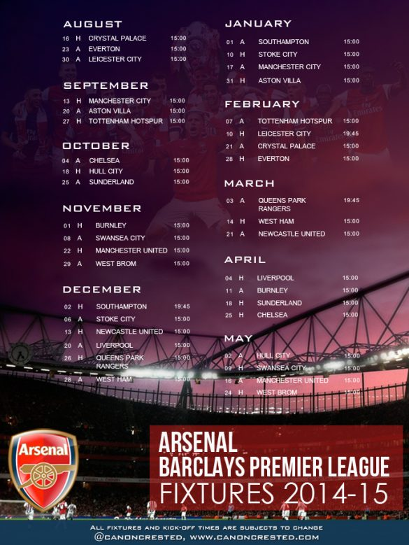 Lullaby, English Woes and Cool Arsenal Fixtures Wallpaper