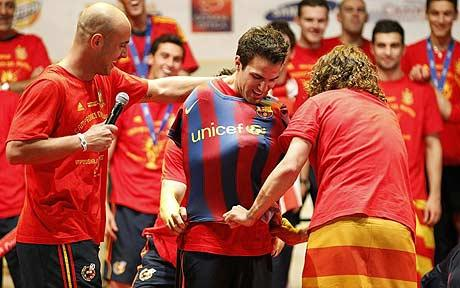 Remember this? Where is your Barca DNA now.. ?
