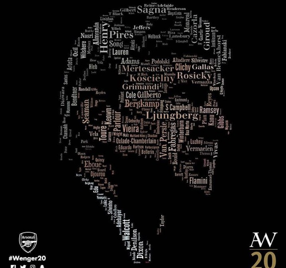 Twenty Heartily Cheers – Arsene Wenger