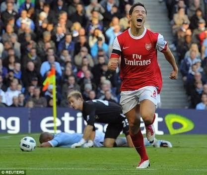 Nasri's age of discovery (20) played well into Arsène's hands.
