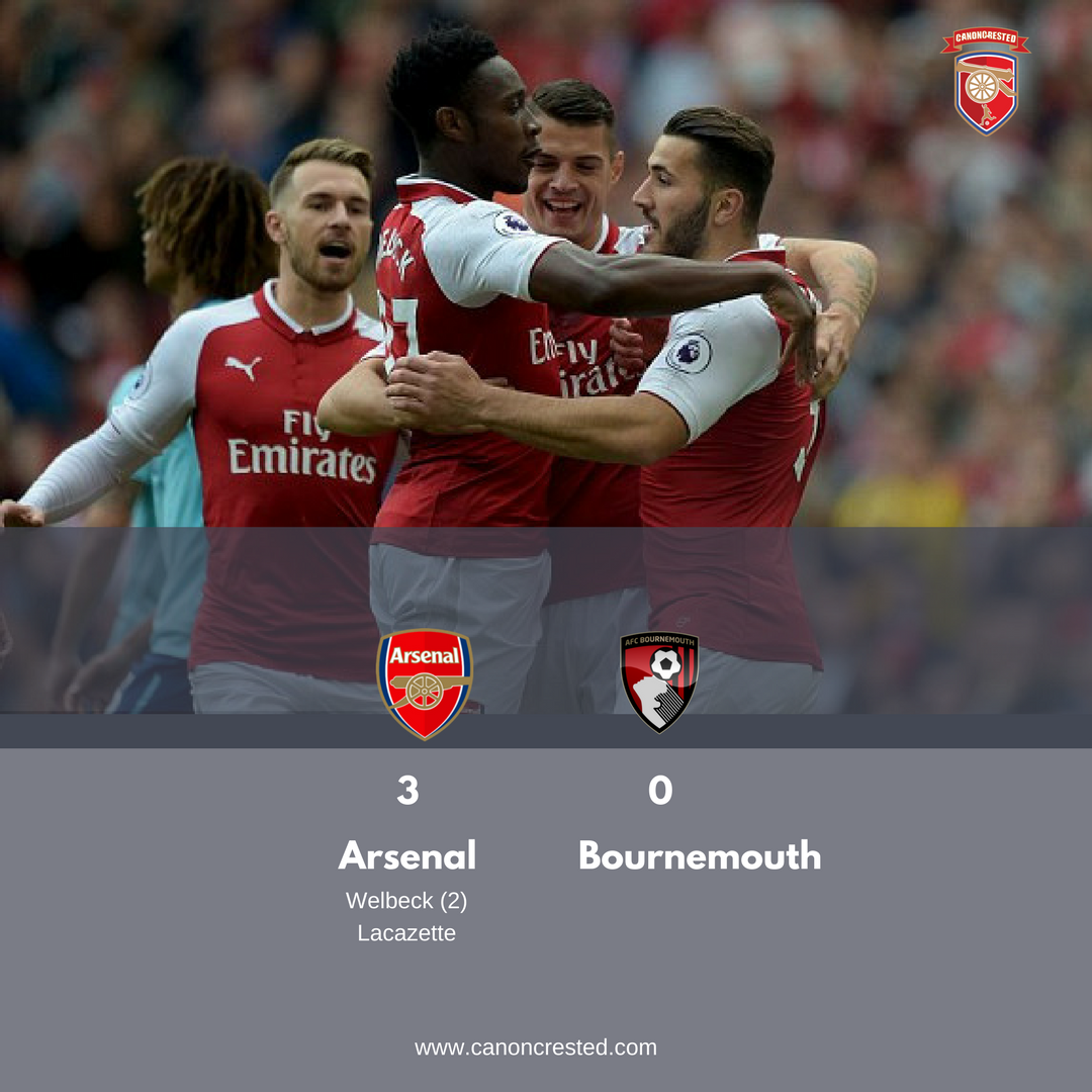 Best Pictures : Arsenal 3 – 0 Bournemouth