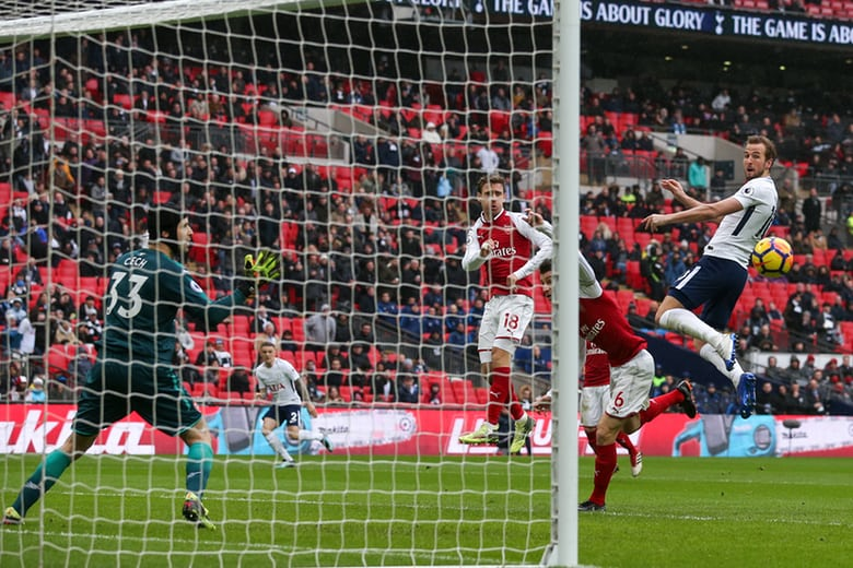 Harry Kane makes the difference as Arsenal falter on North London Derby day